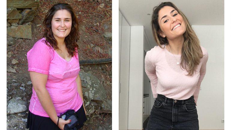 Joana Ferreira Duarte, 30 anos, é autora do blogue 'Perna Fina' onde relata a aventura pelo mundo saudável.