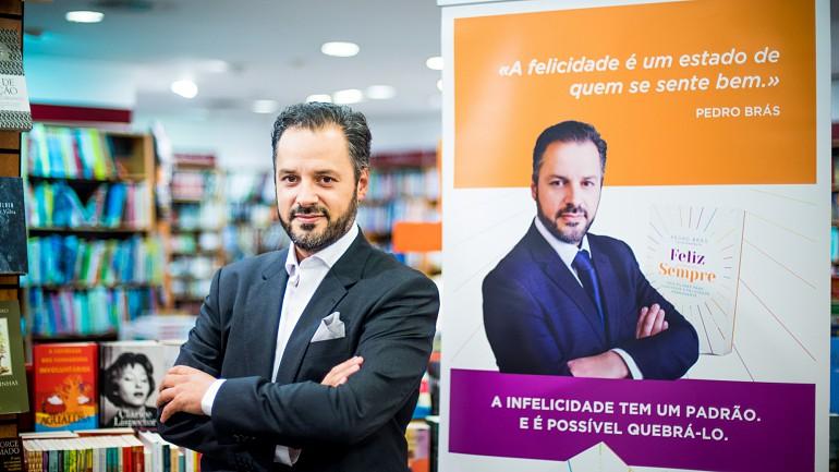 Pedro Brás é psicoterapeuta na Clínica da Mente e autor do livro 'Feliz para Sempre'.