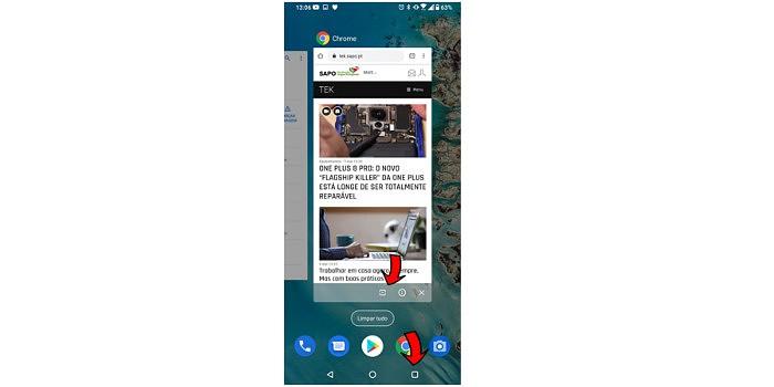 How to TEK: Ecrã dividido em Android