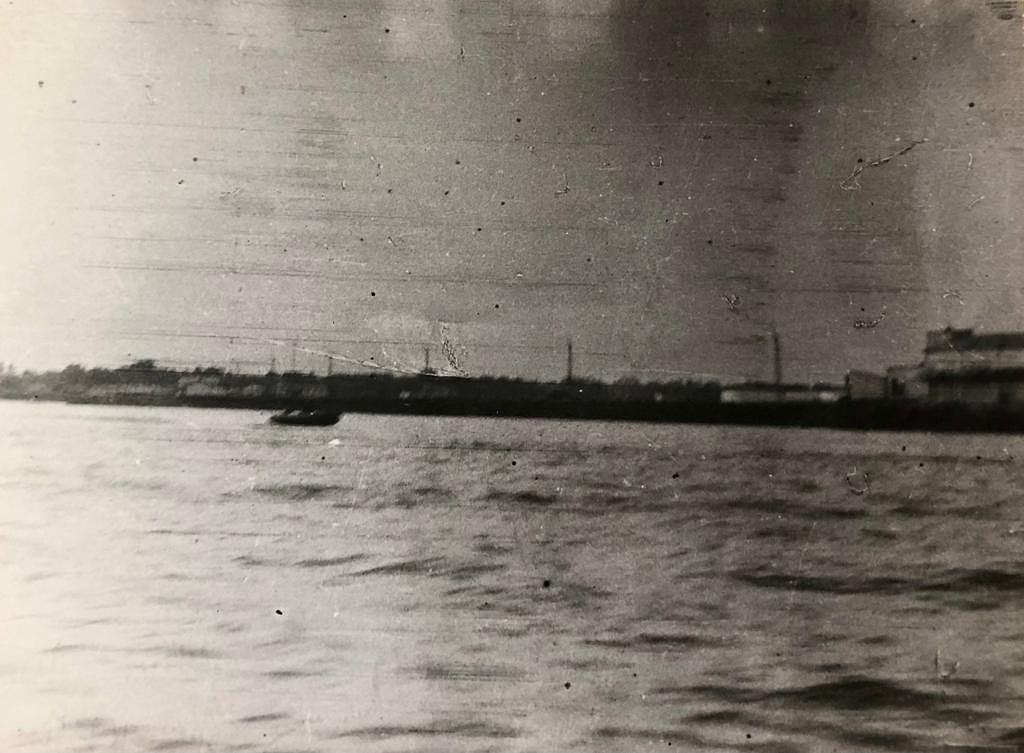 Operação Mar Verde - Porto da cidade de Conacri fotografado pelos militares portugueses