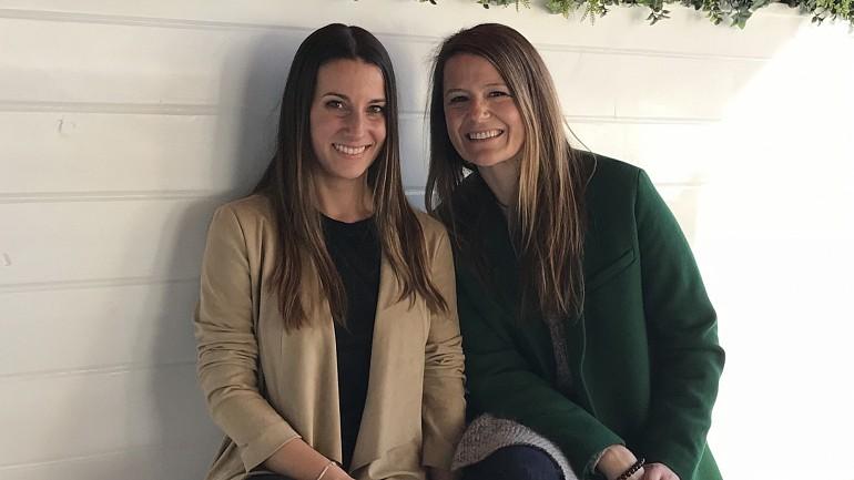 Rute (à esquerda) e Sónia (à direita) conheceram em agosto de 2016, em Chicago, onde vivem atualmente