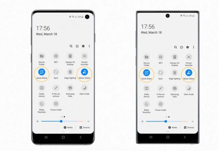 Nova forma de partilhar conteúdos no Galaxy S10 e Galaxy Note10
