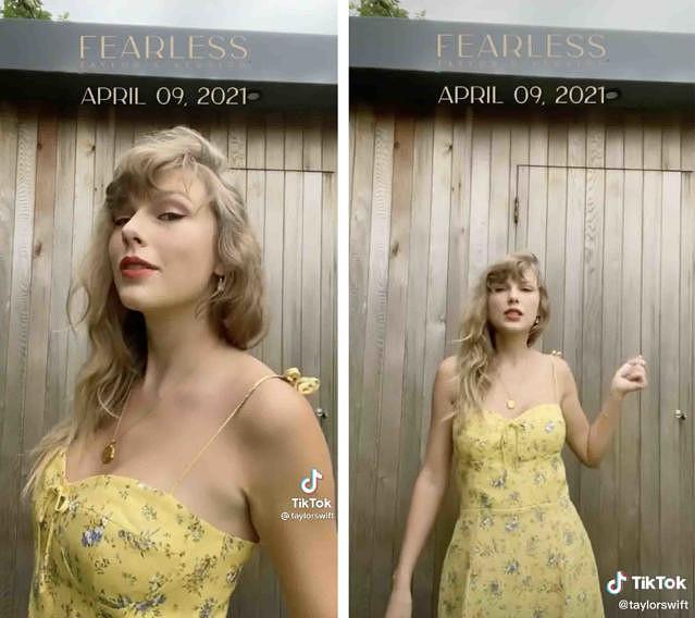 Vestido usado por Taylor Swift em TikTok esgota em poucas horas - Celebridades - SAPO Brasil