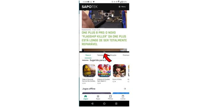How to TEK: Dividir ecrã do Android