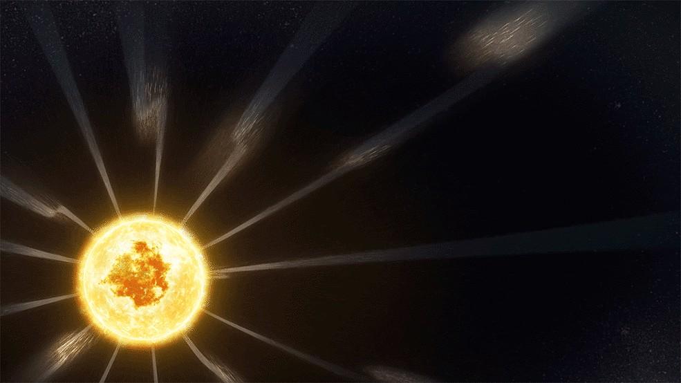 tek Solar Winds - Parker Solar Probe