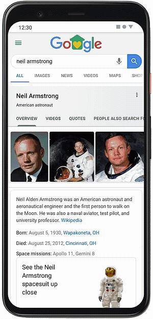 Google AR| Neil Armstrong