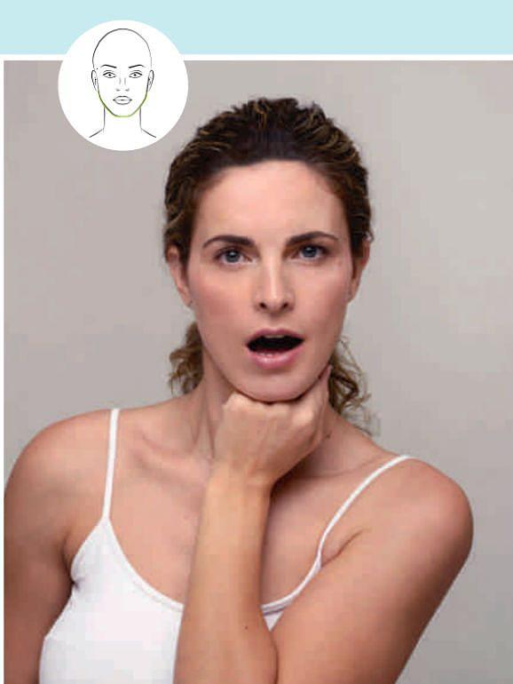 5 exercícios essenciais para ginasticar a cara (um deles é para livrar-se do duplo queixo)
