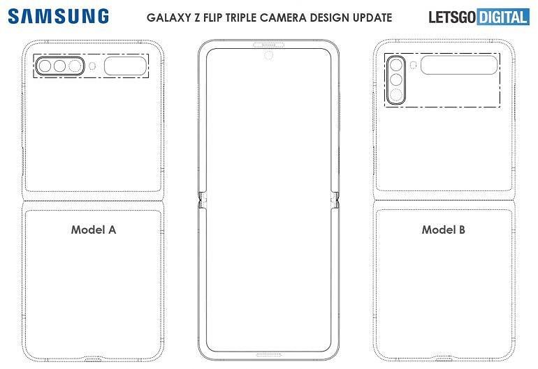 tek Samsung Galaxy Z Flip 2