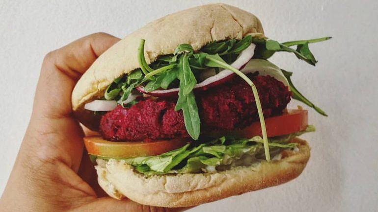 Bloody Beet Burger (12€)