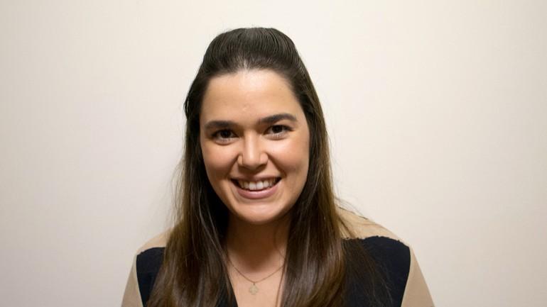 Inês Pádua, natural do Porto,  é docente na Escola Superior de Saúde do Instituto Politécnico de Leiria, investigadora e nutricionista na área clínica e comunitária