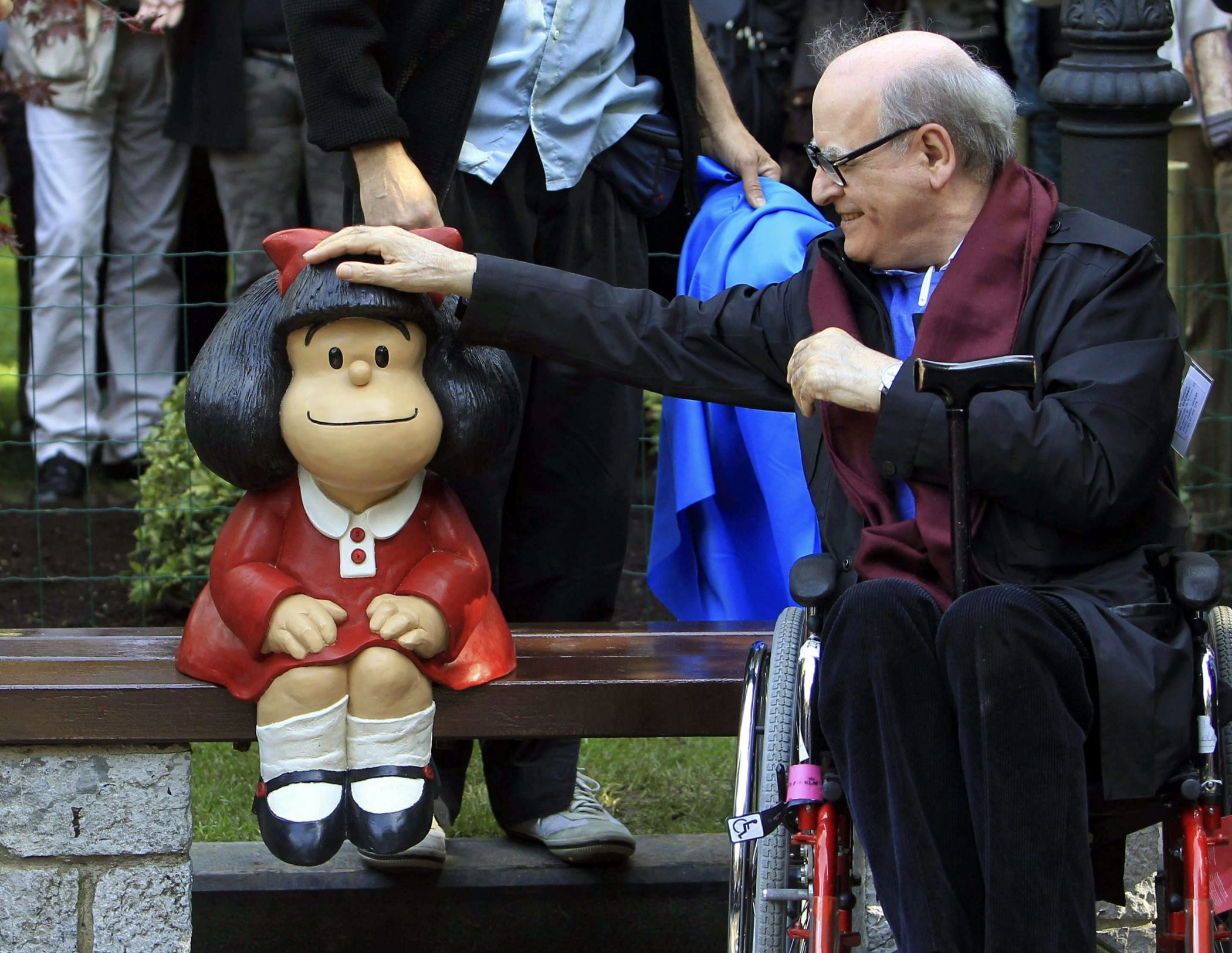 Comic book artist Quino wins 2014 Prince of Asturias Award for Communication and Humanities