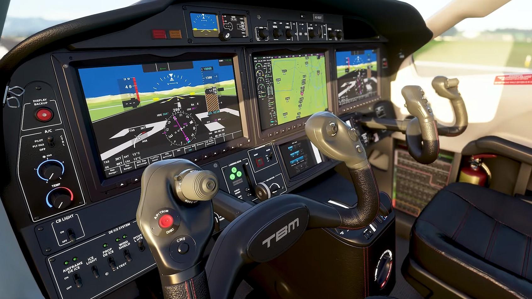 TEK Flight Simulator