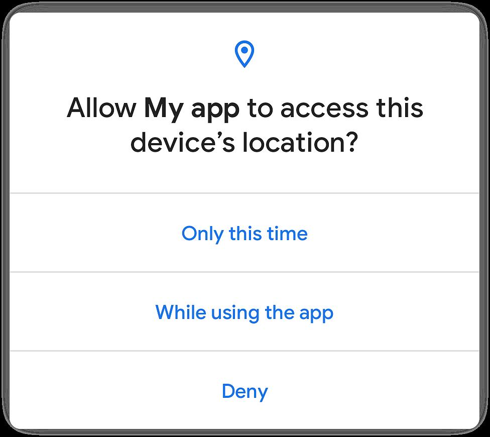 Novo modo de permissão para aplicações do Android 11