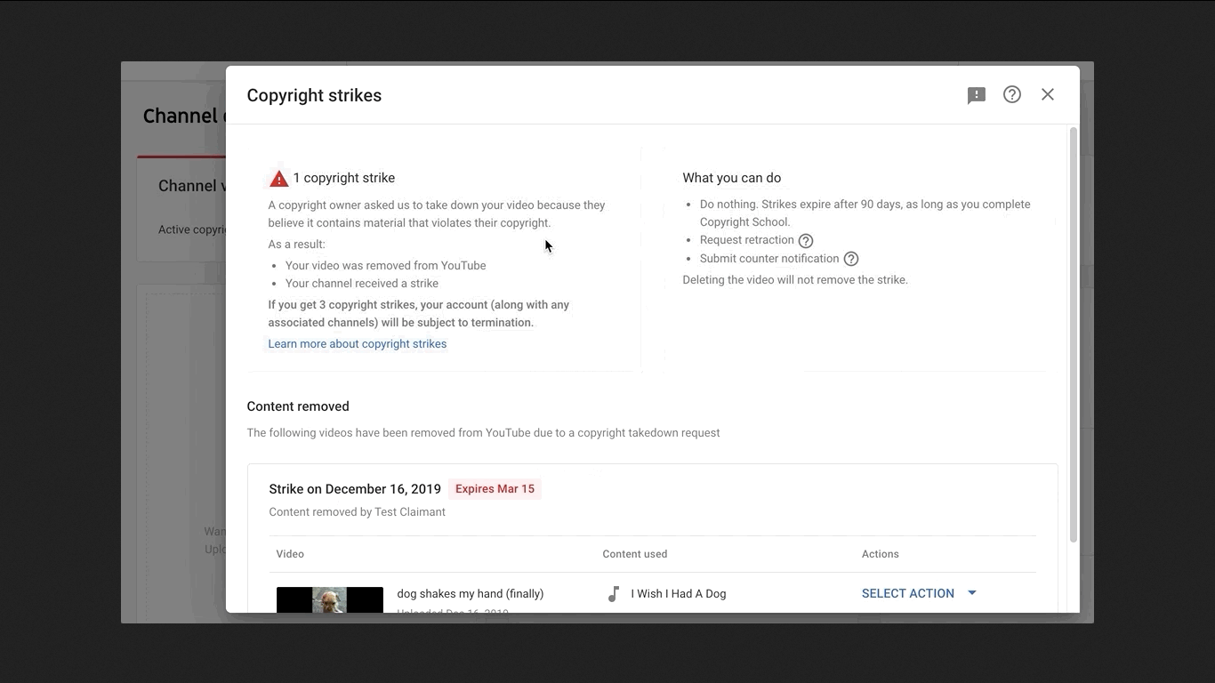 YouTube's New Copyright Conflict Resolution Tool