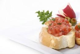 Canapés de tomate