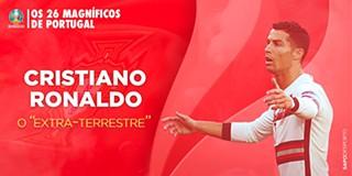 Os 26 magníficos de Portugal: Cristiano Ronaldo, o 'extra-terrestre'