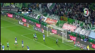 Sporting CP, Jogada, Bas Dost, 86m