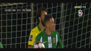 Rio Ave FC, Golo, Diego Lopes (VAR), 43m, 1-2