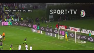 Sporting CP, Golo, Jovane Cabral (g.p.), 84m, 1-1