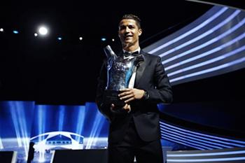 Ronaldo é o Melhor Jogador da Europa