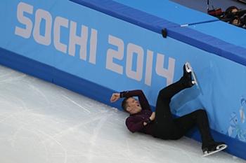 As melhores quedas em Sochi'2014
