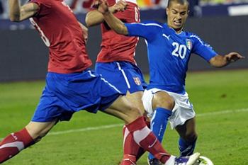 Ap.Euro2012:Sérvia-Itália