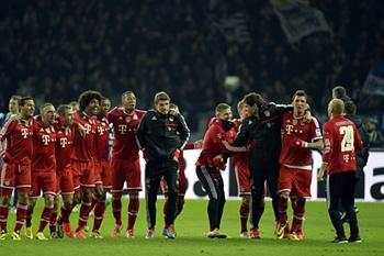 Bayern Munique campeão alemão 2013/2014