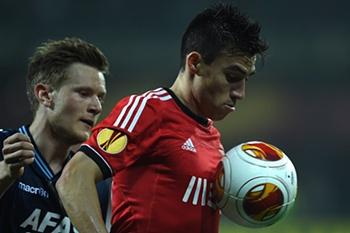 LE: AZ Alkmaar-Benfica 13/14
