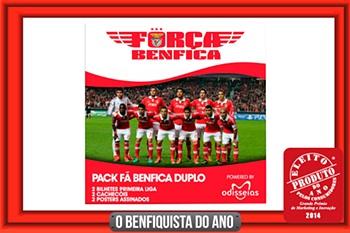 Os Vencedores do Pack Odisseias Fã Benfica