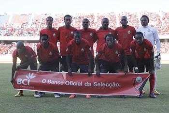 Moçambique longe do top-100 da FIFA