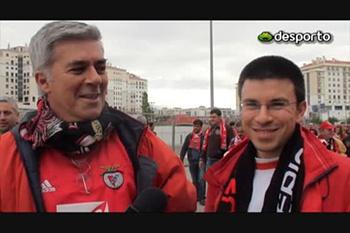 A festa do Benfica campeão