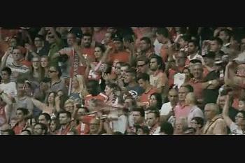 Benfica: Plantel agradece apoio dos adeptos frente ao Zenit