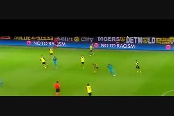 Golaço de Hulk em Dortmund