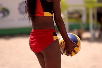 Brasil vence torneio de voleibol de praia