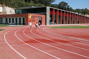 """InauguraÁ""""o do Centro de Alto Rendimento de Atletismo"""