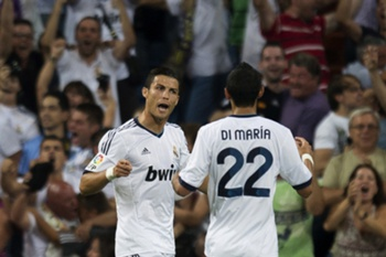 Di Maria e Ronaldo