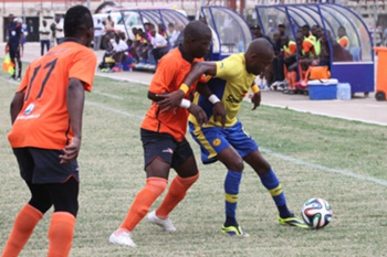 ASA e Petro Luanda num jogo do Girabola 2014.