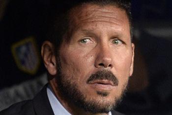 Treinador do Atlético de Madrid.