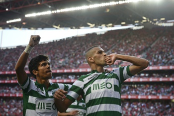 slimani golo benfica-sporting