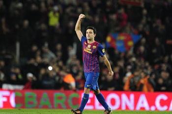 Xavi deu nega a Guardiola