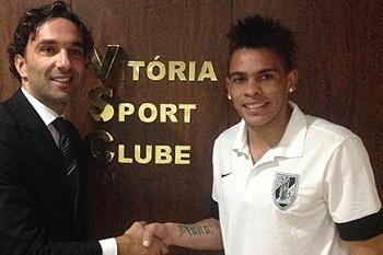 Vitória Guimarães anuncia reforço uruguaio