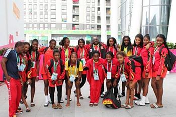 Seleção angolana de andebol júnior
