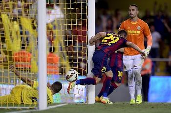 Sandro estreia-se e garante vitória do Barcelona