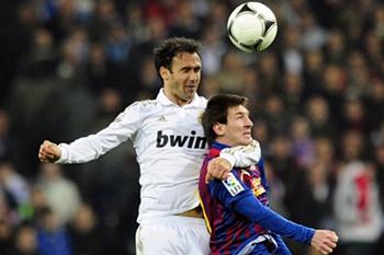 Ricardo Carvalho e Messi