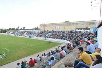 Estádio do Atlético.