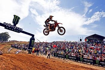 Falta uma prova para o final do Mundial de motocrosse.