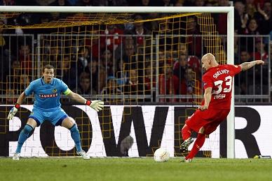 Oito golos no Young Boys-Liverpool