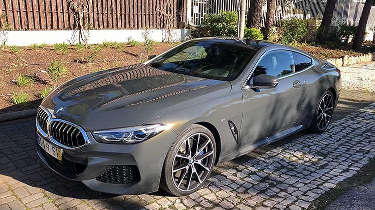 BMW Série 8... ou oitenta!