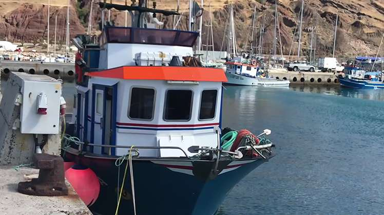 Pesca em alto mar: tecnologia a bordo