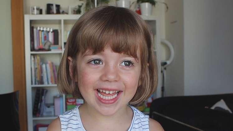 Hoje é a filha de 4 anos da Joana! Preparados?